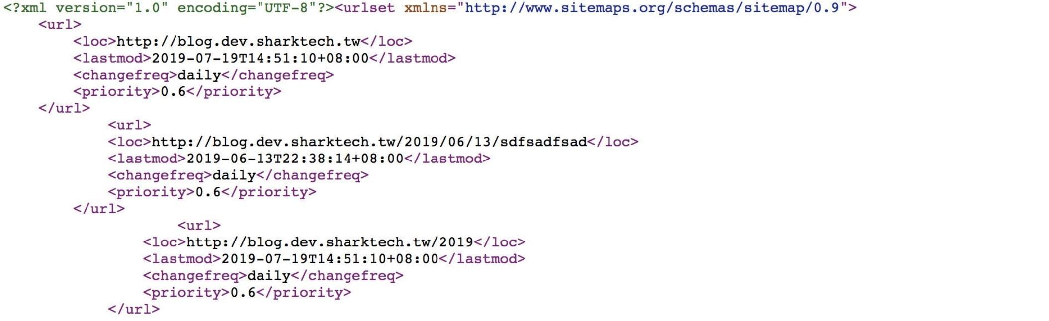 自動提交Sitemap SEF搜尋引擎友善網站設計-鯊客科技SEO優化公司