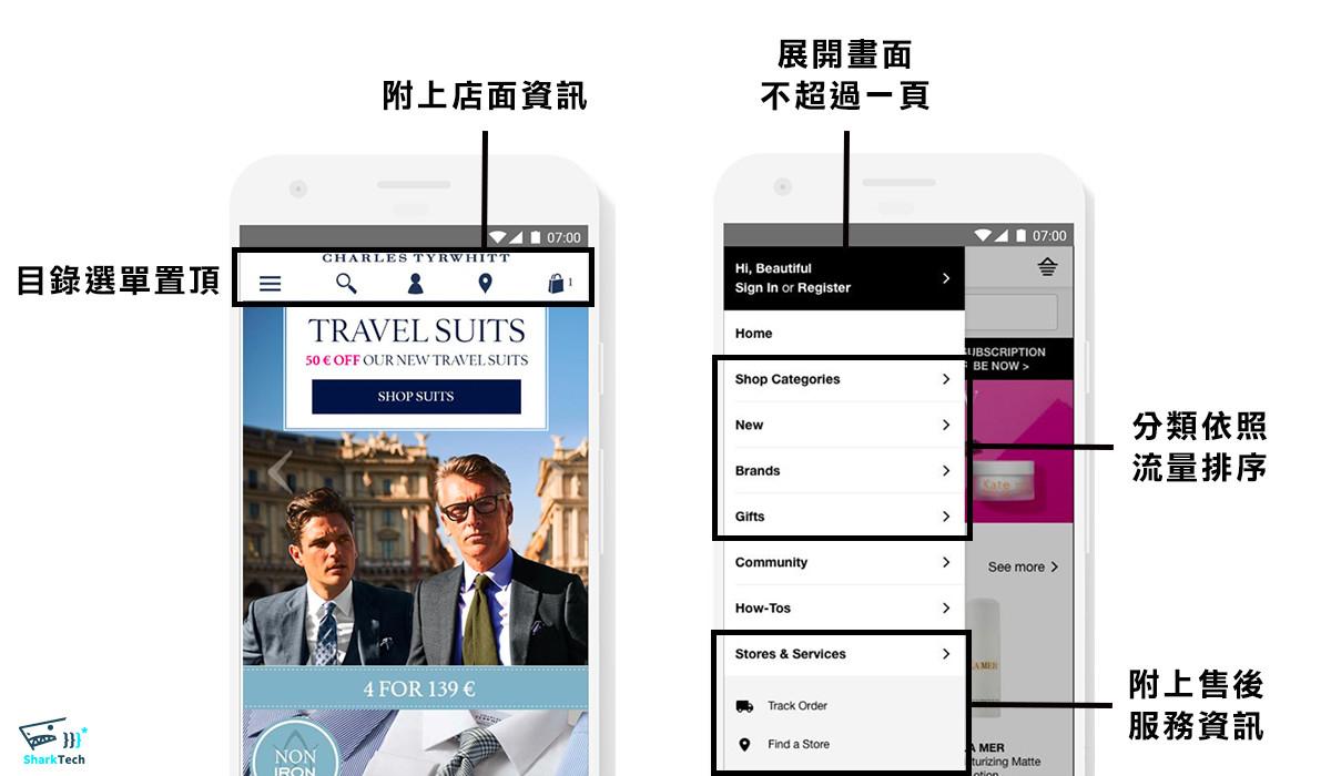 Google UX playbook for retail 目錄選單-鯊客科技網站SEO優化公司