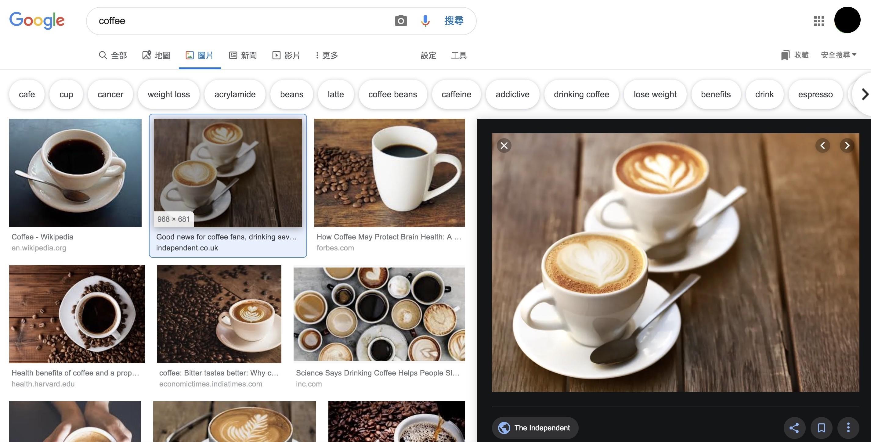 Google搜圖引擎-新版預覽窗格|鯊客科技SEO優化網路行銷公司