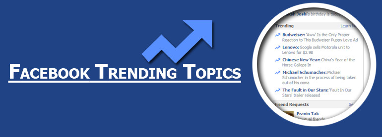 facebook-trending臉書趨勢功能